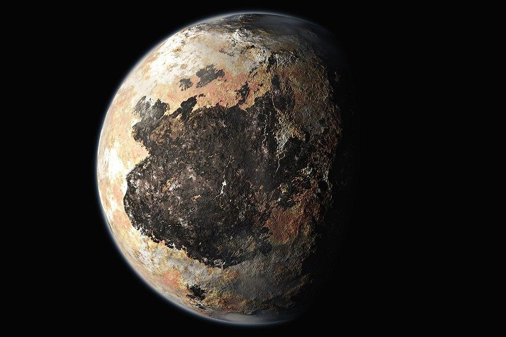 Представлены новые видео пролета над Плутоном иХароном