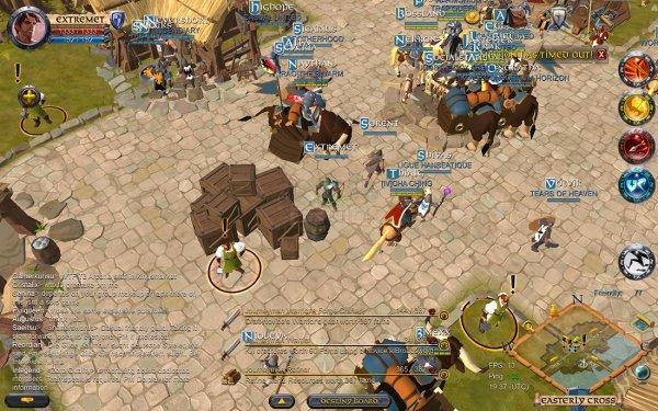 Масштабная MMORPG Albion Online вышла наAndroid