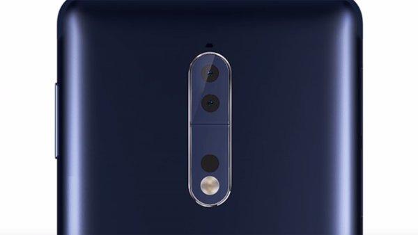 Первые качественные рендеры Nokia8 демонстрируют дизайн флагмана