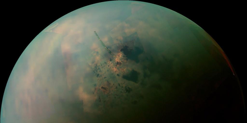 NASA обнаружило возможный материал для форм жизни наТитане