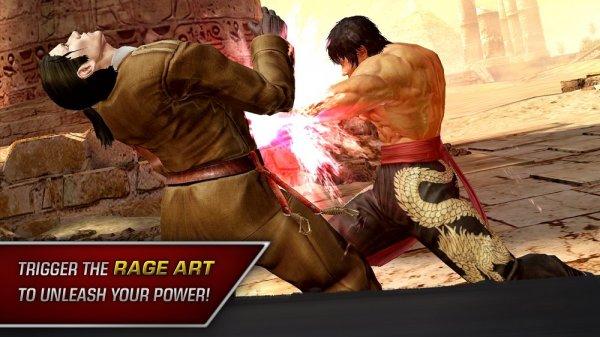 Легендарный файтинг Tekken появится насмартфонах ипланшетах