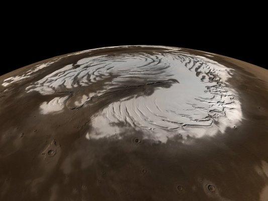 На Марсе возможны снежные бури