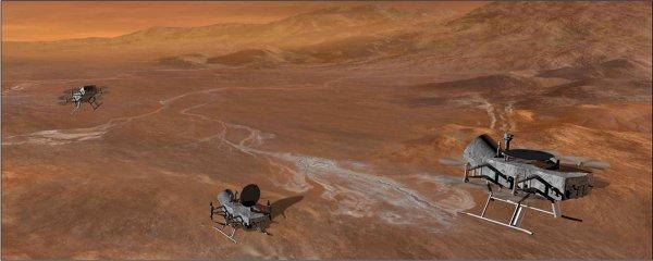 NASA хочет использовать квадрокоптер наТитане