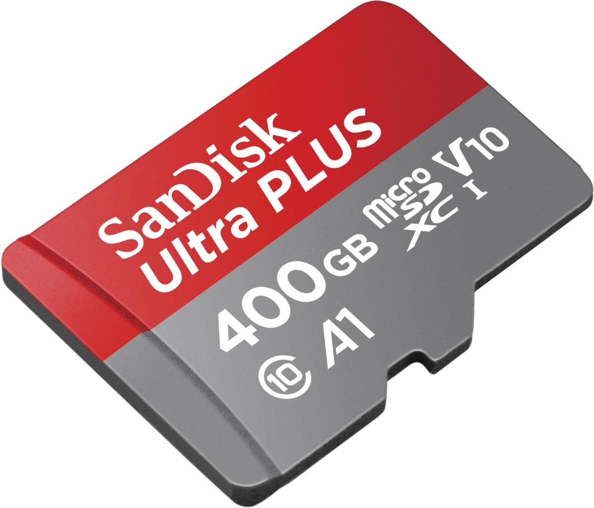 Western Digital показала самую быструю microSD-карту на 400 ГБ