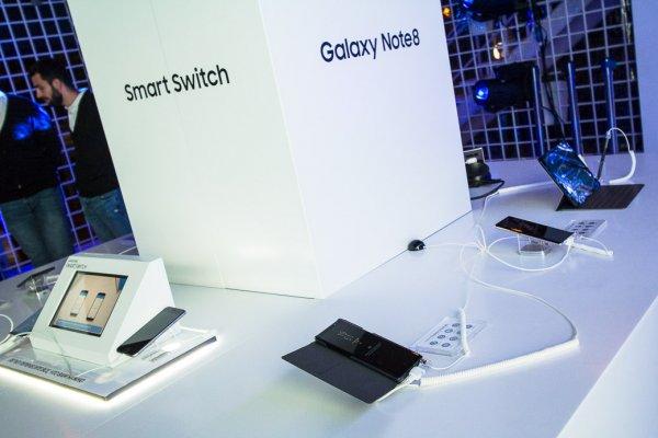 Samsung Galaxy Note8: презентация вРоссии