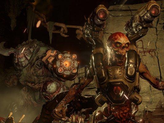 Bethesda выпустит Doom иWolfenstein II дляNintendo Switch