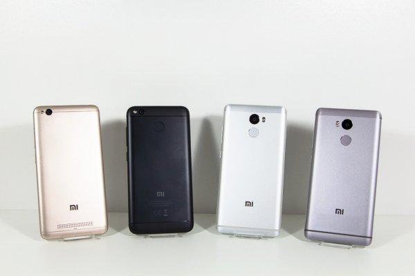 Сравниваем Redmi 4, 4X, 4A и4 Pro