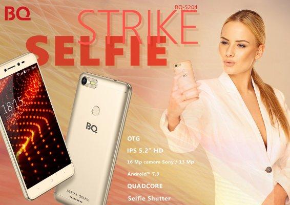 Обзор BQ-5204 Strike Selfie