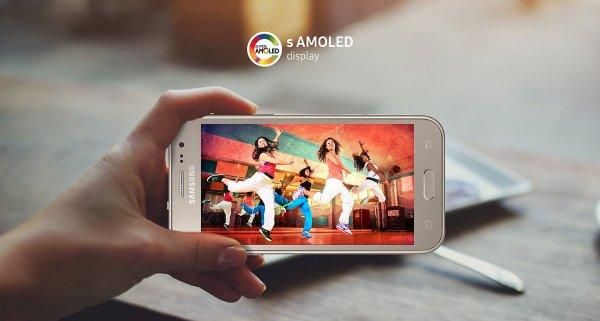 Galaxy J22017 сэкраном Super AMOLED вышел вИндии