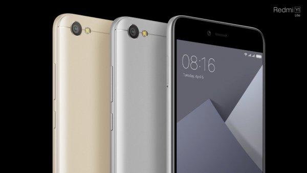 Xiaomi представила RedmiY— линейку смартфонов дляселфи