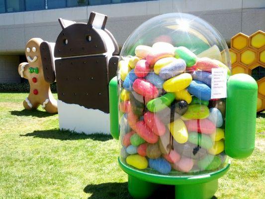 Jelly Bean сейчас на 10% всех Android-устройств
