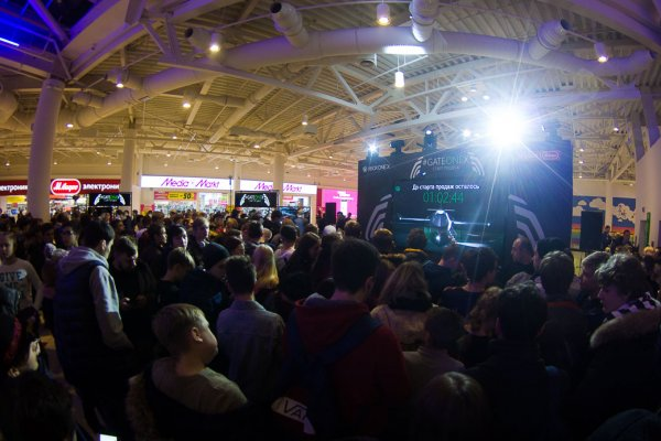 Торжественный старт продаж Xbox One X вРоссии
