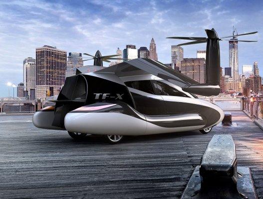 Geely покупает разработчика летающих автомобилей Terrafugia