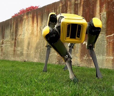 Boston Dynamics обновила дизайн робота-собаки SpotMini