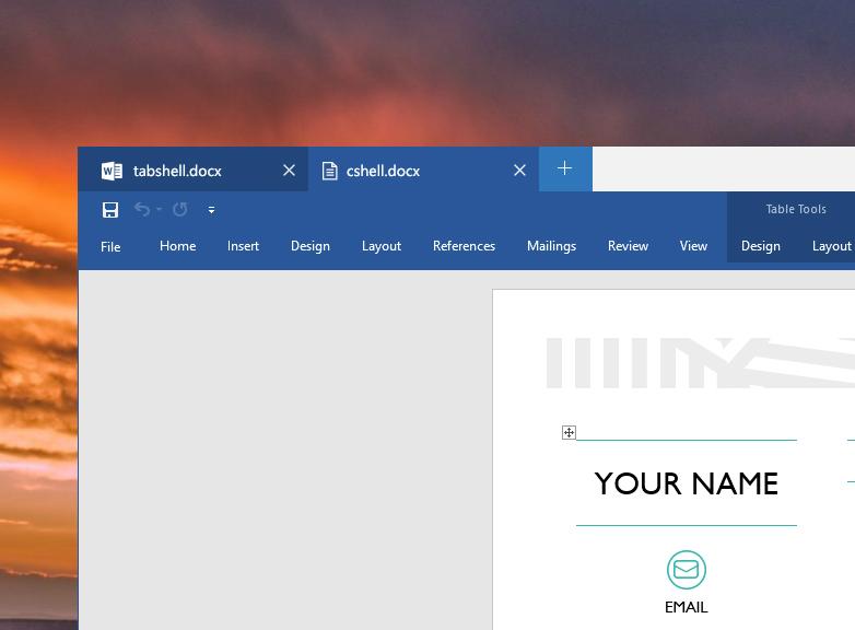 Groupy добавляет вкладки в интерфейс окон Windows
