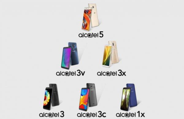 Раскрыты планы Alcatel повыпуску смартфонов на2018 год