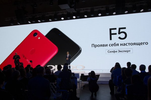OPPO выходит нароссийский рынок с«селфифоном» F5