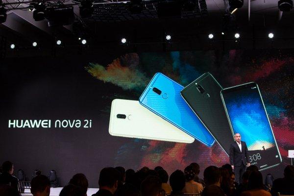 Huawei: итоги года истарт продаж nova 2i