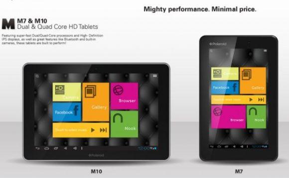 CES 2013: Два дешевых планшета от Polaroid