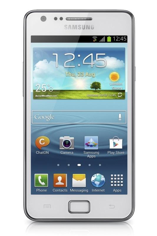 CES 2013: Анонс смартфона среднего класса Samsung Galaxy S II Plus ...