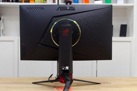 Обзор геймерского монитора Asus ROG STRIX XG27VQ — Внешний вид. 7