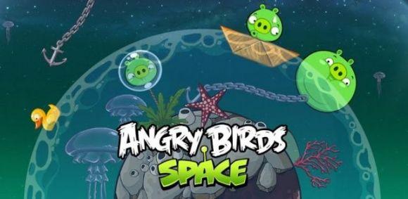 Вышло обновление Angry Birds Space для iOS и Android