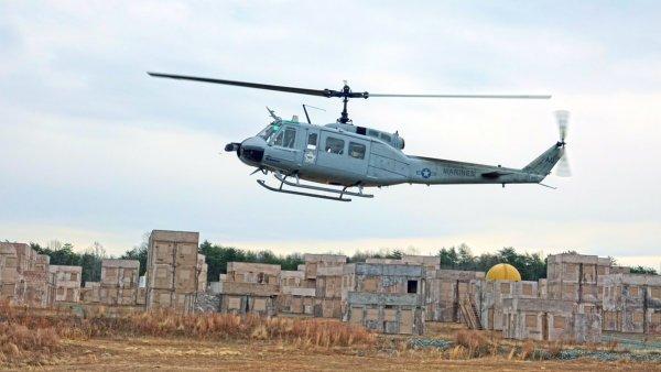 В США испытали беспилотный вертолёт, управляемый спланшета