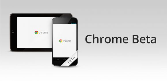 Chrome Beta появился в Google Play