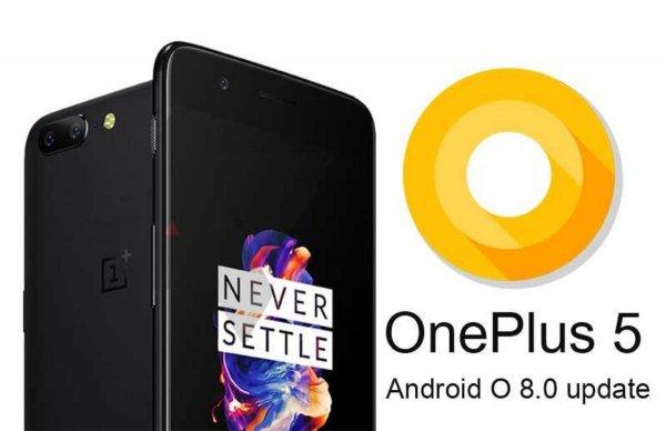OnePlus5 получил обновление доAndroid8.0 Oreo