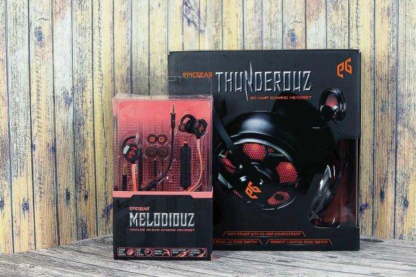 Обзор пары наушников EpicGear Melodiouz иThunderouz