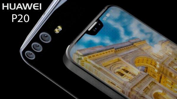 Huawei P20 получит вырез поддатчики встиле iPhoneX