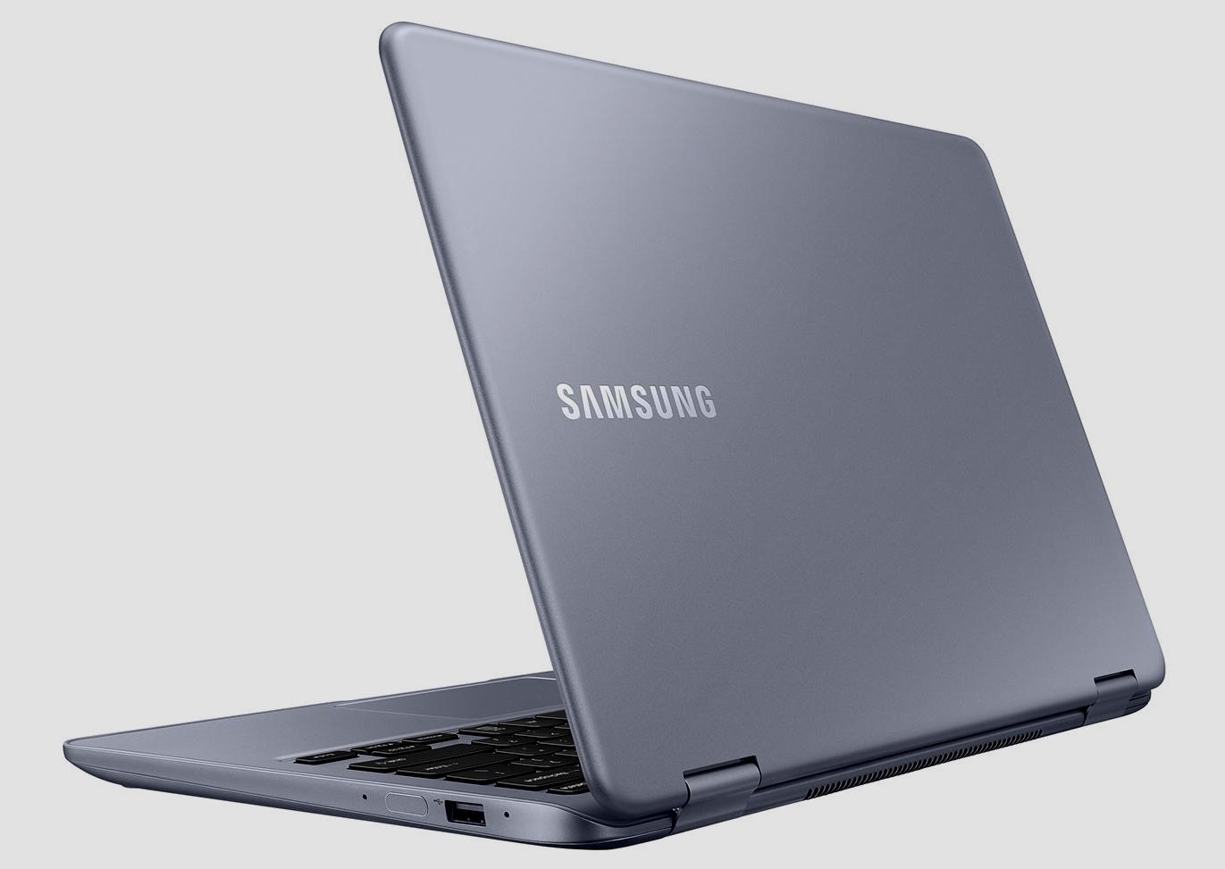 CES 2018: Самсунг представила новый ноутбук-трансформер Notebook 7 Spin
