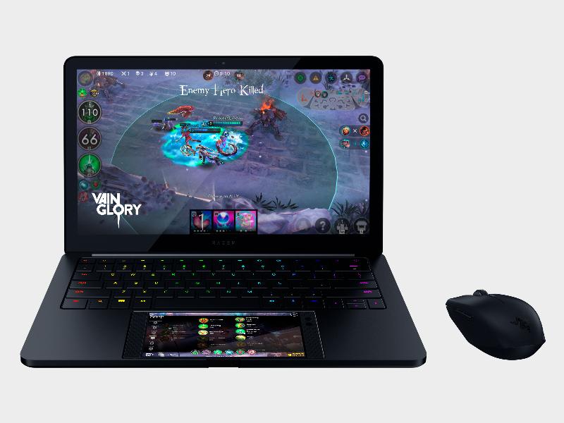 Project Linda превращает Razer Phone вигровой ноутбук