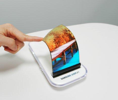Samsung втайне показала складной смартфон наCES 2018