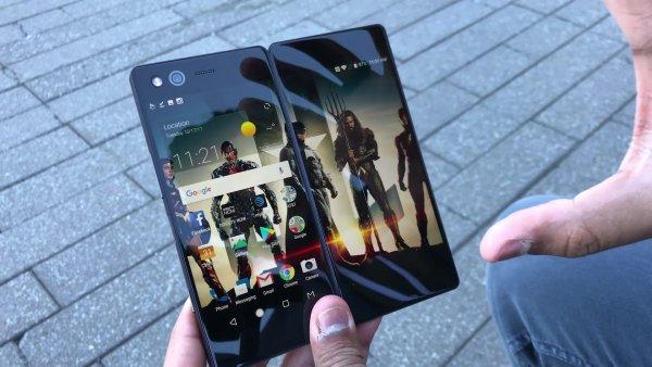 ZTE планирует развивать концепт складных смартфонов