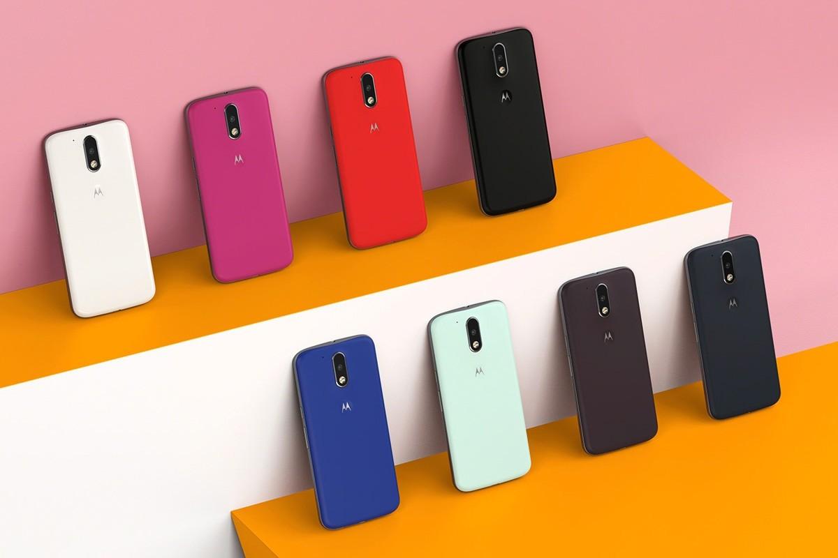 Смартфон Moto E5 сосканером назадней панели показался нарендере