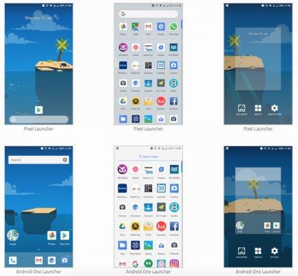 Лаунчер из смартфонов Android One портировали на все устройства