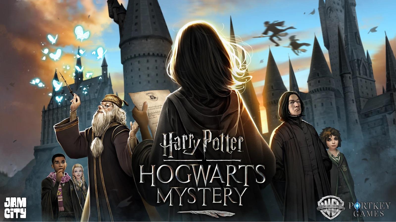 Представлен трейлер игры оГарри Поттере для мобильных устройств