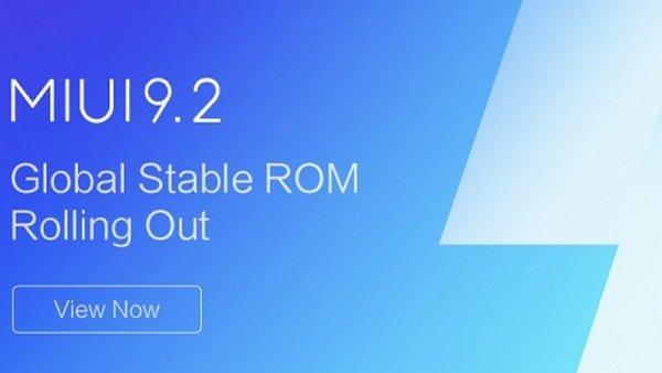 Xiaomi выпустила стабильную версию MIUI9.2 длявсех регионов