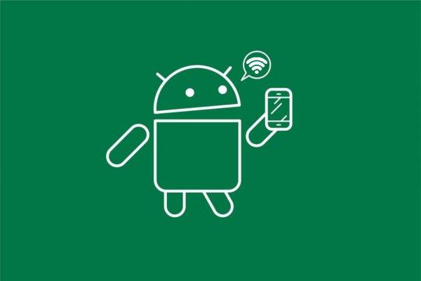 Android 8.1 показывает скорость открытых сетей Wi-Fi безподключения кним