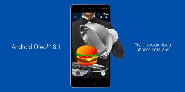 Nokia 8 получает бета-версию Android 8.1 Oreo