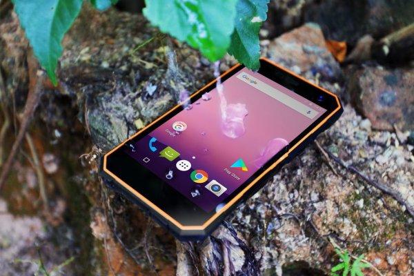 Nomu S10— защищённый смартфон дляактивных людей