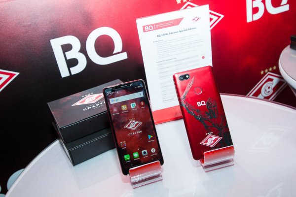 BQ представил смартфон дляболельщиков Спартака