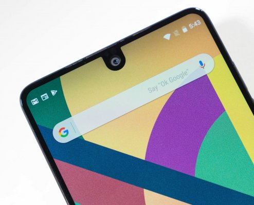 Android 9.0 будет поддерживать дисплеи свырезом как вiPhone X