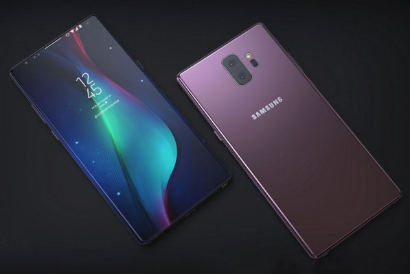 Samsung разрабатывает свой Touch ID дляGalaxy Note 9