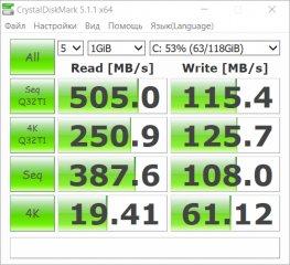 Обзор ASUS VivoBook Pro N580VD — Железо и производительность. 25