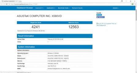 Обзор ASUS VivoBook Pro N580VD — Железо и производительность. 6