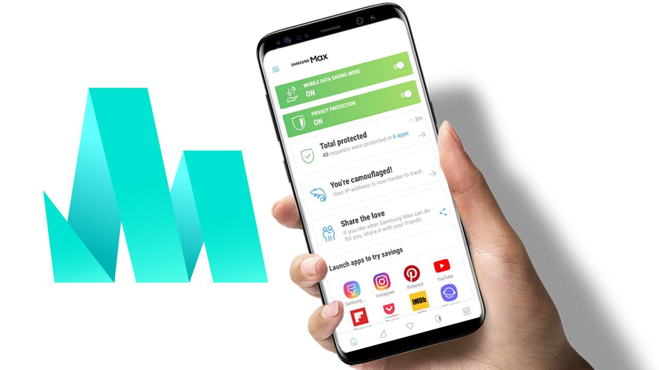 Samsung выпустила мобильное приложение для экономии трафика MAX