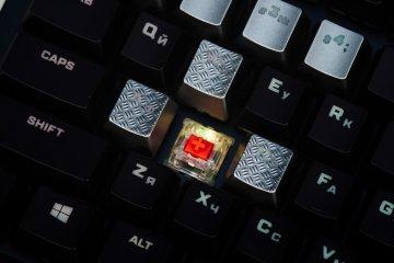 Обзор игровой клавиатуры HyperX Alloy Elite RGB — Внешний вид. 6