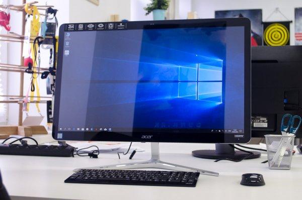 Обзор моноблока Acer Aspire U27-880
